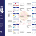 Lịch khai thuế năm 2020