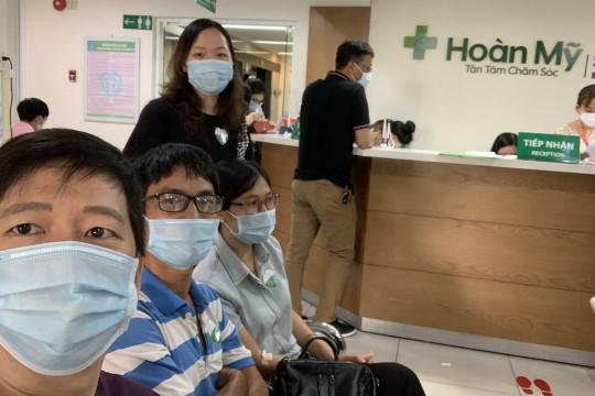 Gia đình FAMA đi khám sức khỏe